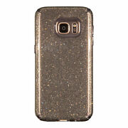 100-pack Speck Candyshell Case Samsung Galaxy S7 Edge Obsidian Gold Glitter