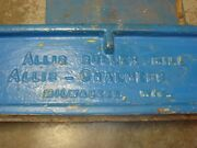 Vintage Rustic Allis Chalmers Roller Mill Farm Tractor Metal Sign Man Cave Decor