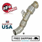 Afe Twisted Steel 3 Down-pipe Exhaust System For 2016-2020 Bmw Toyota 3.0l
