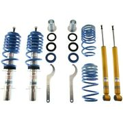 47-124851 Bilstein Coil Over Kits Set Of 4 Front And Rear New For Vw Beetle Jetta