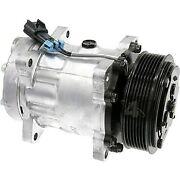 78597 4-seasons Four-seasons A/c Ac Compressor New For Chevy With Clutch Gmc