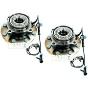 Set-tmsp580312 Timken Wheel Hubs Set Of 2 Front Driver And Passenger Side New Pair