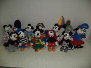 Collectible Micky And Minnie Mouse Dolls