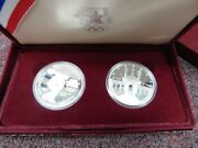 1983-1984 United States Olympic Proof Silver Dollar Set -- San Francisco Mint