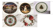 Mary Engelbreit Terry Redlin Pier1 And More Christmas Winter Holiday Plates U Pick