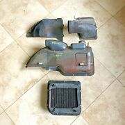 1952 Oldsmobile 98 4 Door Heater Assembly Components And Radiator