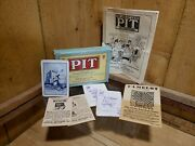Pit Card Game By Parker Brothers Vintage 1919 Bull And Bear Edition Advertisements
