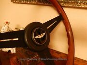 Aston Martin Vantage V8 Wood Steering Wheel Nardi 1986-1987 Hub / Boss New