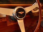 Bentley Corniche 1971 - 89 Wood Steering Wheel Nardi 15 Rivets New