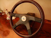 Bentley Turbo R Wood Steering Wheel 1985 89 E.u. D.o.t. Approved Nardi New Nos