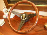 Jaguar Xj12 1986 - 89 Wood Steering Wheel 13.75 Nardi Deep Dish 3 Nardi New