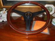 Jaguar Xj12 1990 - 92 Wood Steering Wheel Fit Airbag Model 15.3 Dot Certif. New