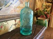 Antique French Seltzer Bottle E Therel And M Petelot Joeuf Paris Pale Green