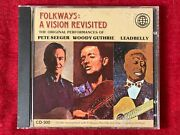 Folkways A Vision Revisited Seeger Guthrie Leadbelly Music Cd 087-110
