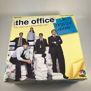 The Office Trivia Game Dundler Mifflin Pressman Unpunched Open Box W/ Wristband