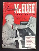 Jimmy Mchugh Song Folio Piano Vocal Sheet Music Book Porgy Lonesomest Girl In To