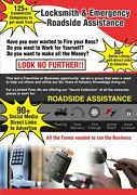 Locksmith And Emergency Roadside Assistance Business Opportunity