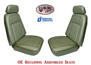 Fully Assembled Seats 1969 Camaro Deluxe Oe Reclining - Your Choice Of Color