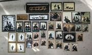 Vintage Silhouette Victorian Style Framed Picture Frame Lot 38 Various Styles