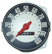 1948 1949 1950 Ford Truck Speedometer W Backing Plate Replaces Ford 7rc-17255-a