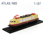 1/87 Cllectible Atlas Tram Model Br 103 226-71973 Locomotive Abs Toy Gift
