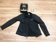 Jack Daniels Black Jacket With Flask And Metal Tin Womenand039s Large L12a