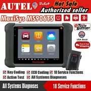 Autel Maxisys Ms906ts Auto Diagnostic Scanner Tool Obd2 Key Coding As Ms906bt