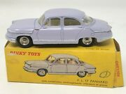Panhard Dinky Toys With Box Car Miniature Toy Old Automobile Old