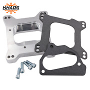 Chevy Tbi To Holley Edelbrock 4 Barrel Intake Manifold Adapter 2 Open