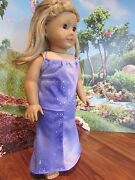 Homemade 18 American Girl/madame Alexander 2 Piece Skirt/top Knit Doll Clothes