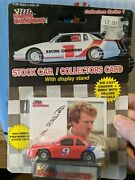 Racing Champions 1989 Bill Elliot 9 Stock Car And Collector Card On Display Stand