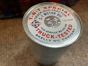 Vintage Skelly Tbt Truck-bus-tractor S-1 Motor Oil, Full Can - Sae-20