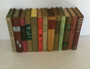 Vintage Decorative Home Decor Hc Book Lot Instant Library Red Gray Mixed Colors