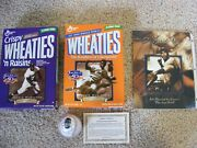 Wheaties 2 Jackie Robinson Cereal Box Unopened Original Excellent Condition.