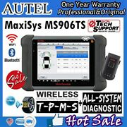 Us Autel Maxisys Ms906ts Tpms Obd2 Diagnostic Scanner Tool All System As Ms906bt
