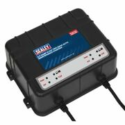 Sealey Mbc250 Two Bank 6/12v 10amp 2 X 5a Auto Maintenance Charger