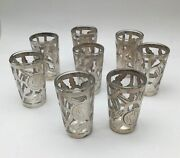 Antique Glass Sterling