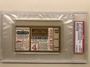 1935 Detroit Tigers World Series Chicago Cubs Ticket Game 4