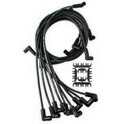9018ck Accel Spark Plug Wires W/ Hei 75-86 Wires Under Covers Black Sbc