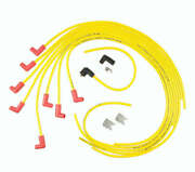 8021acc Accel Spark Plug Wire Set - 8.8mm - Universal 90° Boots - Yellow