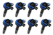 140060b-8 Accel Ignition Coils 2011-2016 Ford 5.0l Coyote Engines Blue, 8-pack
