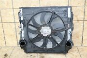 Front Clip Cooling Core System Condenser Radiator Ac Fan Assembly Oem Bmw E70