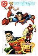 Young Justice Nm Sins Of Youth Superboy Insert 2000 More In Store Lll