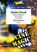 Robin Hood Of Thieves Michael Kamen Brass Band Music Set Score And Parts