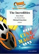 The Incredibles Michael Giacchino Brass Band Choral Music Set Score And Parts