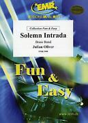 Solemn Intrada Julian Oliver Brass Band Choral Music Set Score And Parts