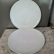 Vista Alegre Ornament Charger Plate Made In Portugal 2 Unused Mint 13