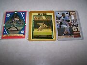 50 Baseball Cards Including Babe Ruth, Griffey Jr, Ichiro, And Autographed Card