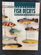 Commercial Fish Decoys By Frank R Baron Hc Large Format Like New