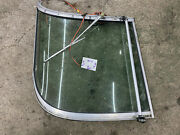 2000 Larson 270 Cabrio Boat Right Side Curved Windshield Glass Piece